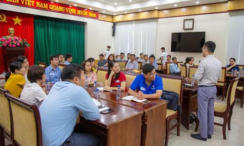 Tổng công ty Tân cảng Sài Gòn triển khai đào tạo hỗn hợp cho cán bộ nguồn