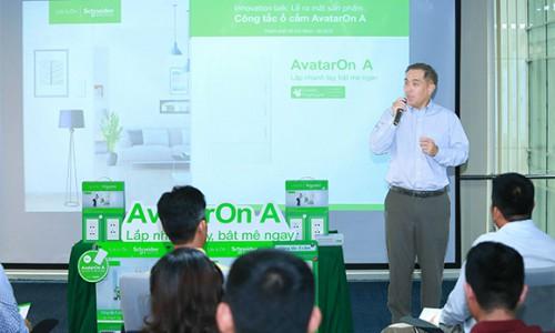 Schneider Electric chính thức ra mắt dòng sản phẩm AvatarOn A