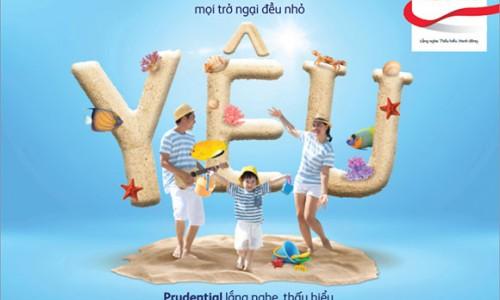 """Prudential triển khai chiến dịch """"Khi tình yêu đủ lớn"""" với chương trình khuyến mại """"Trao nhiều vì yêu thương"""""""