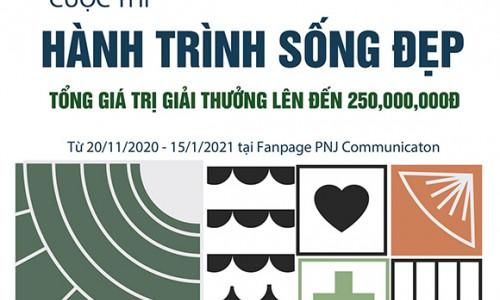 PNJ khởi động cuộc thi Hành trình sống đẹp với cơ hội nhận được học bổng lên đến 50 triệu đồng