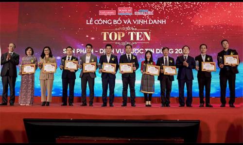 Lock & Lock được vinh danh Top 10 sản phẩm – dịch vụ tin dùng Việt Nam 2020