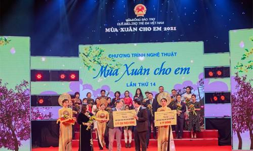"""PNJ đóng góp hơn 5 tỷ vào Quỹ """"Bảo trợ trẻ em Việt Nam"""""""
