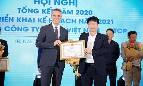Sanofi Việt Nam nhận Bằng khen của Bộ Y tế vì thành tích xuất sắc trong công tác phòng, chống dịch Covid-19