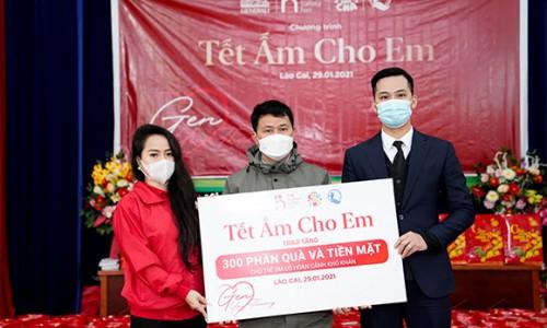 Generali Việt Nam trao tặng quà Tết cho 300 trẻ em và gia đình nghèo ở Tây Bắc