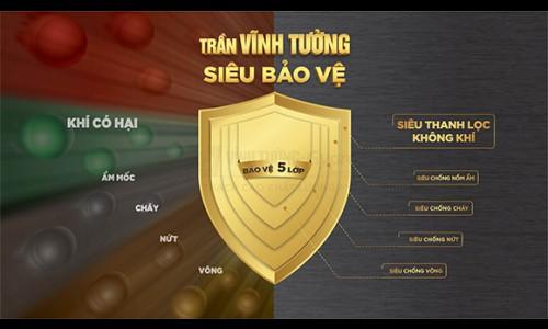 Saint-Gobain Việt Nam ra mắt Trần Vĩnh Tường Siêu Bảo Vệ - Thanh lọc không khí vượt trội