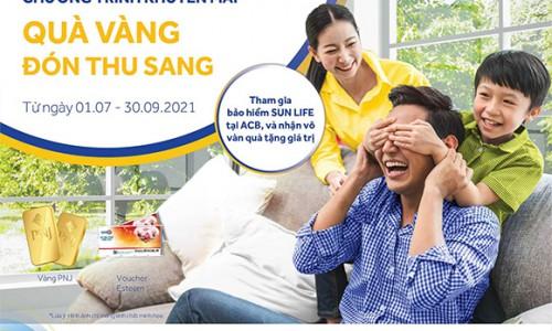 """Sun Life Việt Nam triển khai chuỗi chương trình khuyến mại """"Quà Vàng Đón Thu Sang"""""""