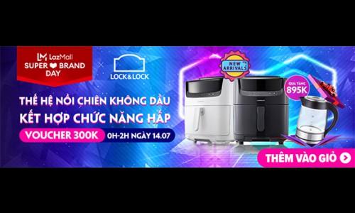 Đại tiệc Lock&Lock – Deal siêu chất: Giảm giá đến 50% cùng nhiều quà tặng hấp dẫn