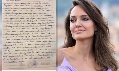Angelina Jolie gây bão Instagram khi đăng bức thư của cô bé Afghanistan