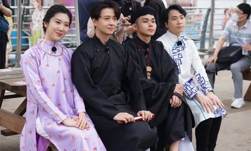 Hậu trường ghi hình ở Hàn Quốc của Lan Ngọc, Karik