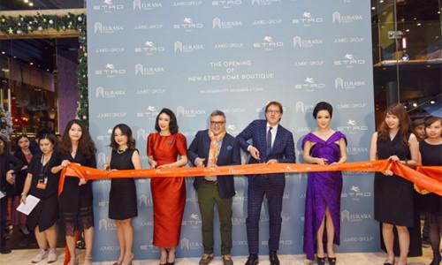 Thương hiệu nội thất ETRO HOME của nước Ý khai trương showroom đầu tiên tại Times Square