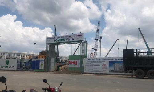 """SunlandSG nhận tiền giữ chỗ """"chui"""" dự án Lovera Vista Khang Điền?"""