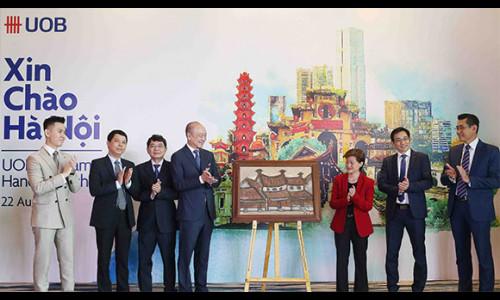 UOB Việt Nam mở rộng mạng lưới tại khu vực miền Bắc