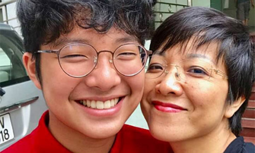 MC Thảo Vân hạnh phúc khi con trai biết lo lắng cho mẹ