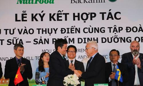 Tỷ phú Thụy Điển bắt tay NutiFood đưa sữa Việt ra thế giới
