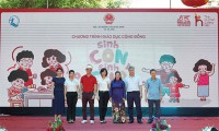 """Bắc Giang: Hơn 500 phụ huynh, cán bộ mầm non, các em thiếu nhi tham dự chương trình """"Sinh Con, Sinh Cha"""" đầu tiên"""