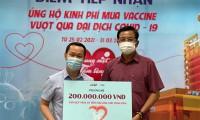 PNJ tìm nguồn vaccine Covid-19 để tiêm miễn phí cho toàn thể nhân viên