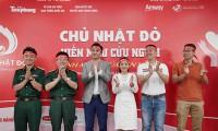Amway Việt Nam đồng hành cùng Chương trình hiến máu Chủ nhật đỏ lần XIII – năm 2021